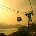 ..but well we took the cable car to Ngong Ping