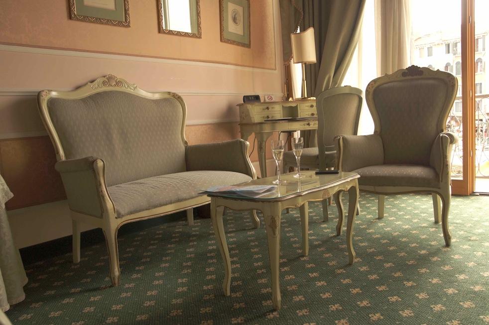 ..at Hotel Rialo..