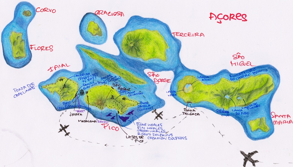 Acores Map1
